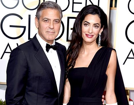 """George Clooney Says Amal Alamuddin Is """"the Smart One"""" in Their Marriage"""