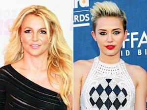 Miley Cyrus, Britney Spears Tweet About Teaching Each Other Dance Moves