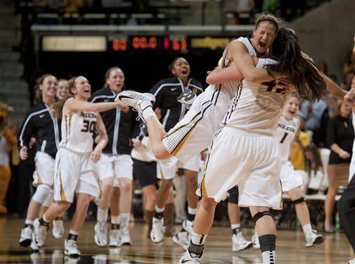 Missouri women upset No. 9 Tennessee 80-63
