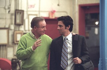Charles Grodin and Zach Braff in The Weinstein Company's The Ex