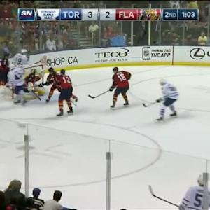 Nazem Kadri Goal on Roberto Luongo (18:59/2nd)