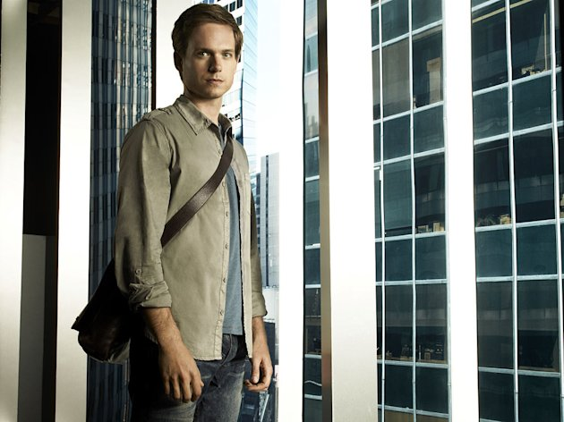 "Patrick Adams stars as Mike Ross on ""Suits."""