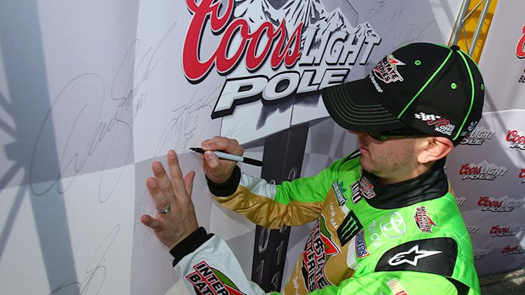 Kyle Busch wins third pole of 2013 at Daytona