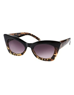 ASOS Mix Frame Cat Eye Sunglasses