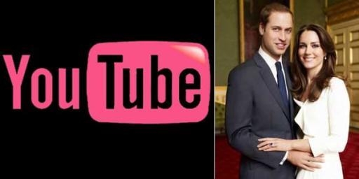 YouTube Siaran Langsung Pernikahan William-Kate