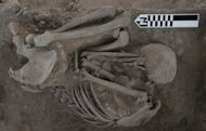 The team analyzed maternal DNA from 25 bodies found under the patios of houses in ancient Xaltocan
