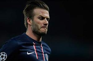 Beckham announces retirement
