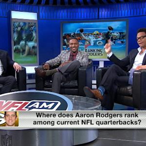Ranking Green Bay Packers quarterback Aaron Rodgers