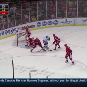 Jimmy Howard Save on Jarret Stoll (12:31/2nd)