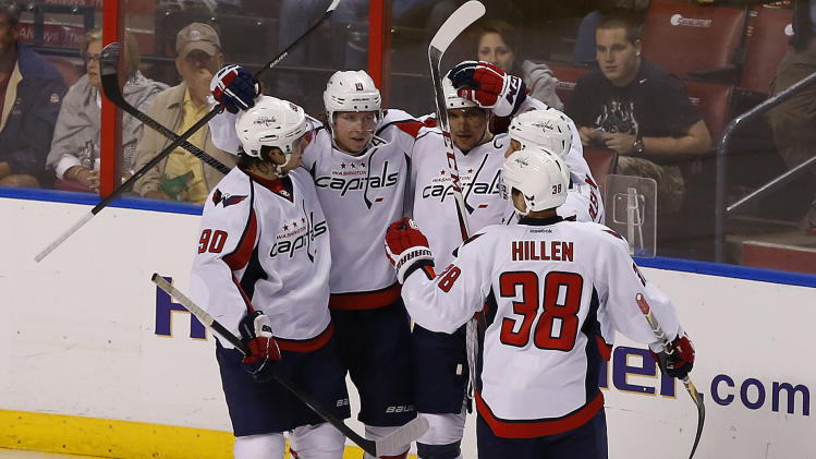 NHL: Washington Capitals at Florida Panthers