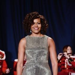 Michelle Obama's Dress At The White House Correspondents' Dinner Is Sparkly Perfection