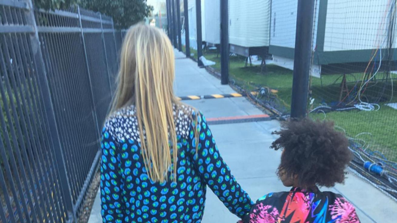Apple Martin and Blue Ivy Carter Had the Fanciest Playdate Before the Super Bowl