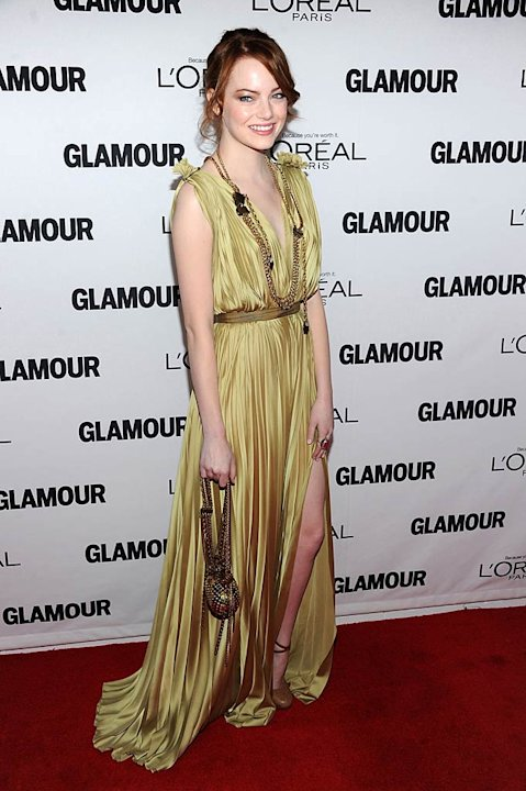 Emma Stone Glamour Women Of The Year Awards