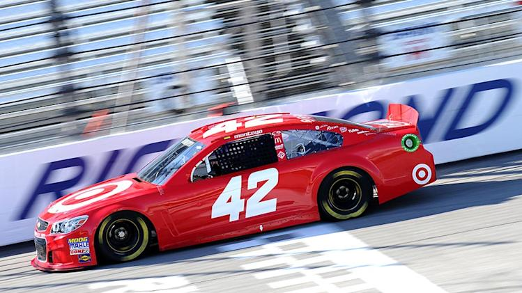 Gen-6 car fast as EGR, RPM test at Richmond