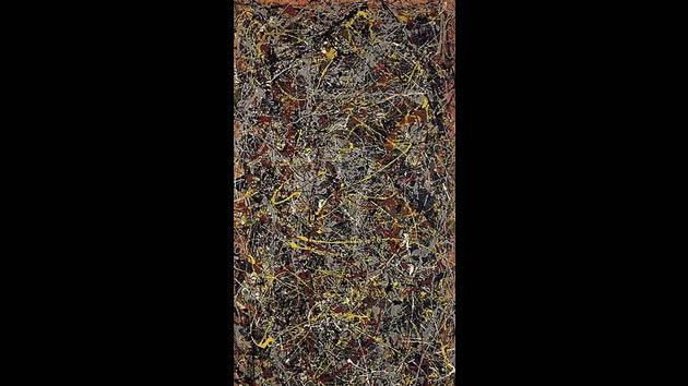 """No. 5, 1948"" by Jackson Pollock, sold for $140 million in 2006."