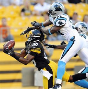 Batch, Clausen shine; Steelers top Panthers 17-16