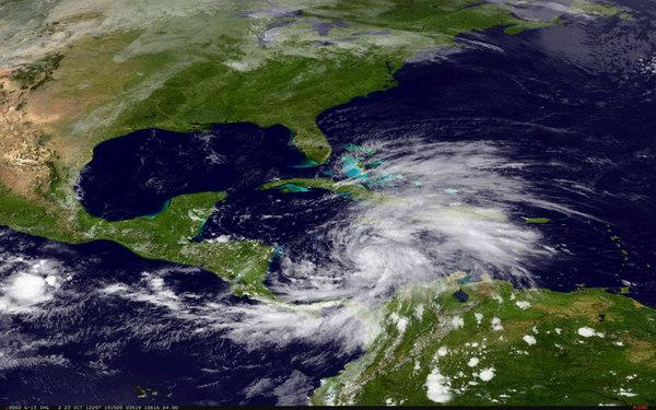 Sandy Becomes Hurricane, Takes Aim at Jamaica