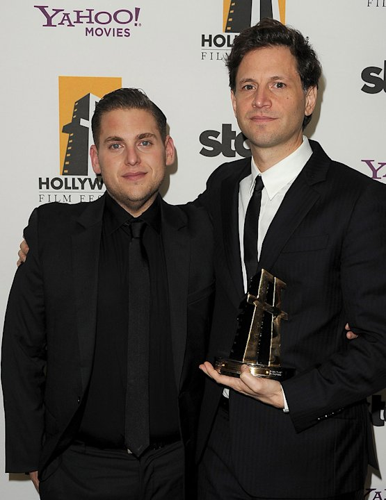 2011 Hollywood Film Awards Jonah Hill Bennett Miller