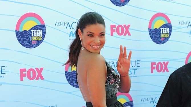 Jordin Sparks arrives at the Teen Choice Awards on Sunday, July 22, 2012, in Universal City, Calif. (Photo by Jordan Strauss/Invision/AP)