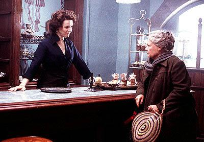 Juliette Binoche and Judi Dench in Miramax's Chocolat
