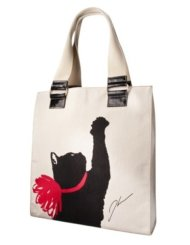 The Jason Wu cat print tote was one of the first items to sell out.