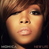 "In this CD cover image released by RCA Music Group, the latest release by Monica, ""New Life,"" is shown. (AP Photo/RCA Music Group)"