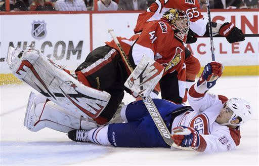 Kyle Turris' OT goal lifts Senators, 3-2