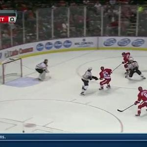 Franzen passes to Abdelkader for goal
