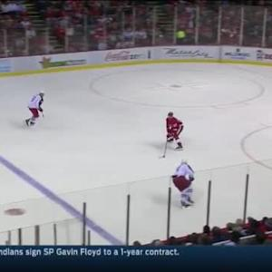 Jimmy Howard Save on Jeremy Morin (06:25/3rd)