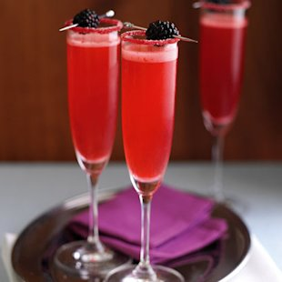 champagne velvet with blackberry