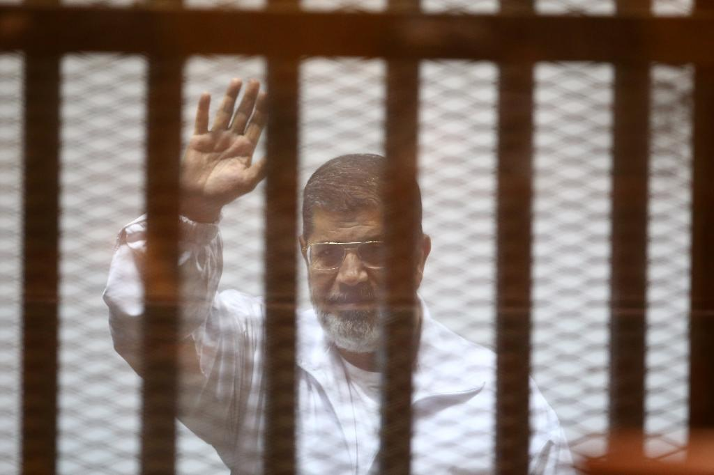 Egypt's Morsi jailed for 20 years over protester deaths