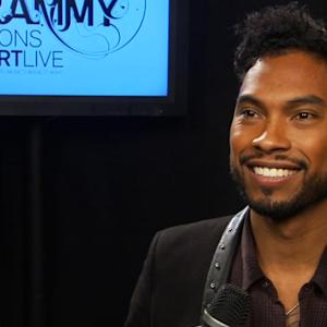 GRAMMY Awards Nomination Show Interview - Miguel
