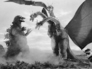 "Three monsters in ""Godzilla"""