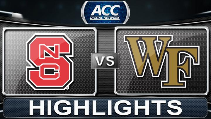 NC State vs Wake Forest | 2013 ACC Football Highlights