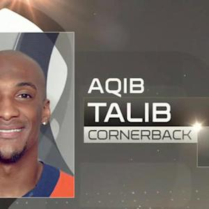 Pro Bowl Draft: Denver Broncos cornerback Aqib Talib goes No. 21