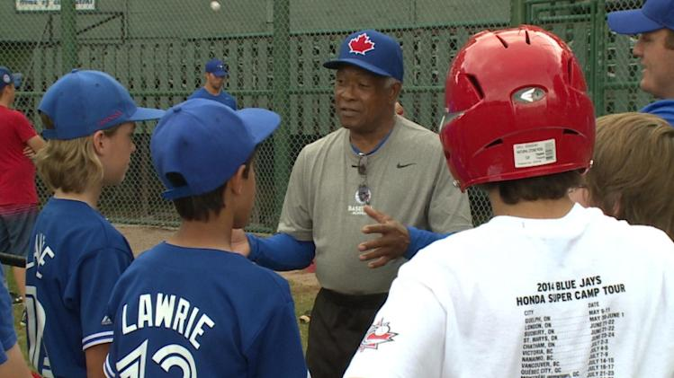 Young baseballers get opportunity of lifetime at Blue Jays camp