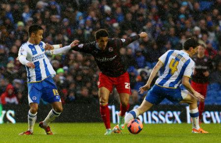 Soccer - FA Cup - Third Round - Brighton and Hove Albion v Reading - AMEX Stadium