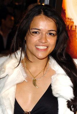 Michelle Rodriguez at the Hollywood premiere of Paramount Pictures' Sahara
