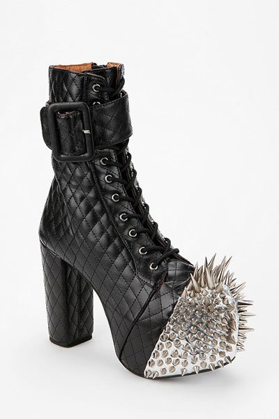 Jeffrey Campbell Scotty Spike Leather Boot, $245, urbanoutfitters.com
