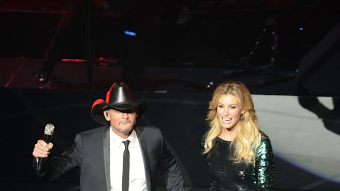 "Faith Hill And Tim McGraw Open ""Soul2Soul"" Show At The Venetian In Las Vegas"