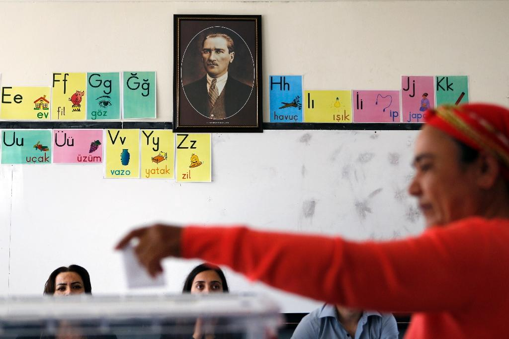 Turkish Cypriots vote in poll that could speed peace talks