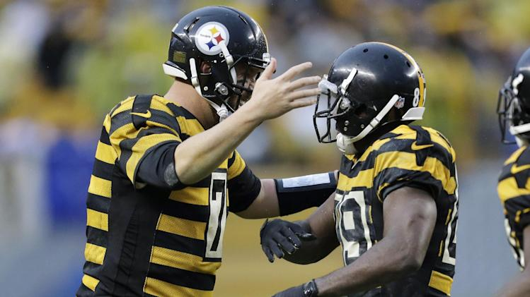 Cotchery flourishing in slot for Steelers