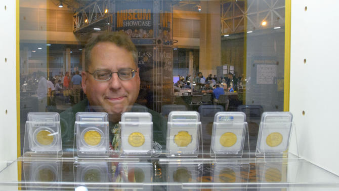 Rare coins worth millions displayed in New Orleans