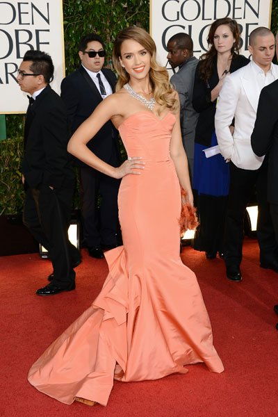 Golden Globes 2013: Jessica Alba © Getty