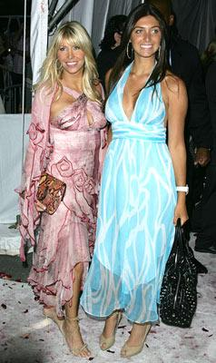 Lisa Gastineau and Brittny Gastineau at the New York premiere of New Line Cinema's Wedding Crashers