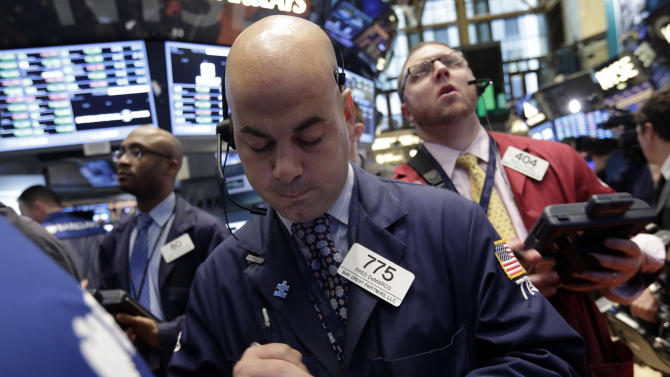 Stocks gain after unemployment claims fall
