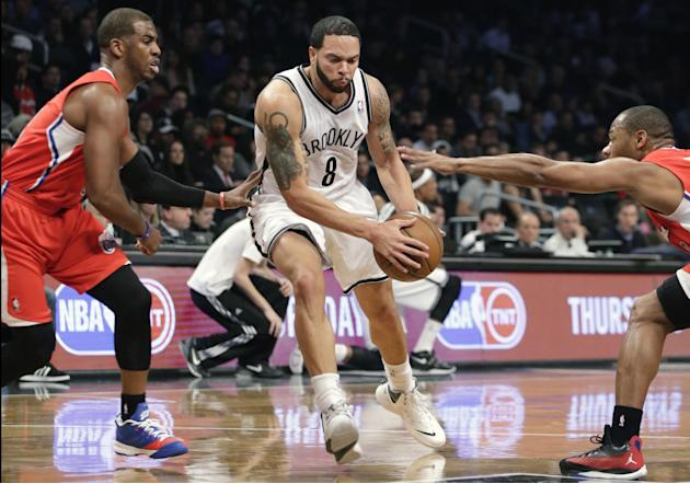 Pierce, Garnett help Nets beat Rivers' Clippers