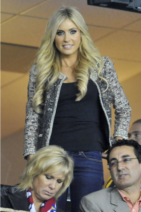 Celebrities Attend the 2011 MLS Cup - Houston Dynamo v Los Angeles Galaxy