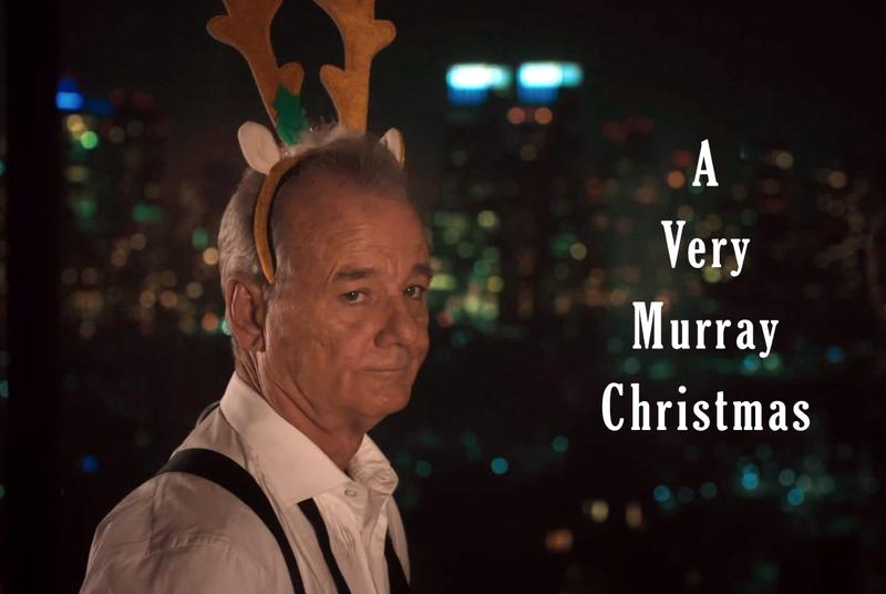 Watch the forlorn first teaser for Bill Murray's Netflix Christmas special