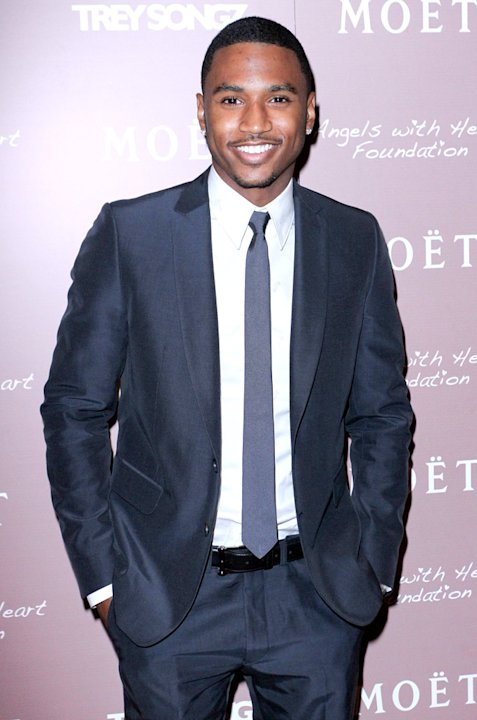 Trey Songz Moetrose Lounge Miami Angels With Hearts Benefit